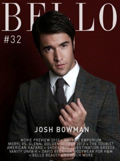 Josh Bowman, así de bello
