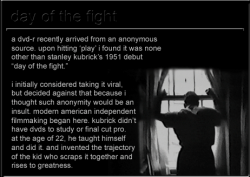 'Day of the Fight' y 'Flying Padre', dos cortos de Stanley Kubrick