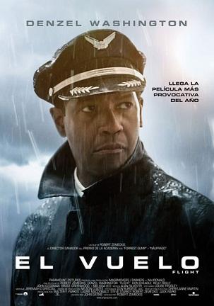 Imagen con el cartel de 'El vuelo'