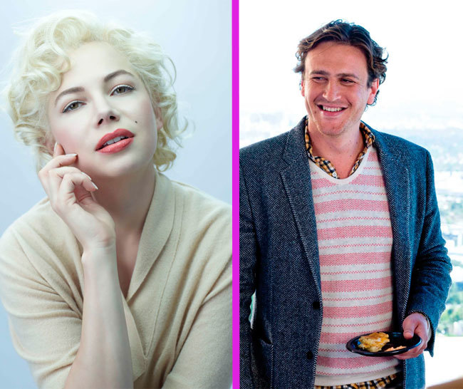 Michelle Williams y Jason Segel