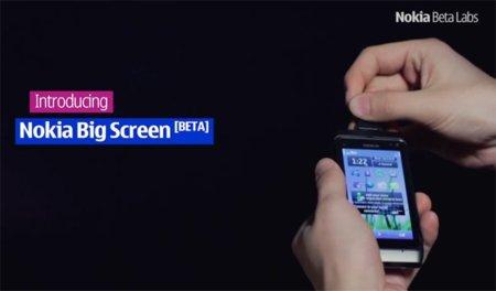 Nokia Big Screen, convierte tu Nokia N8 en un centro multimedia