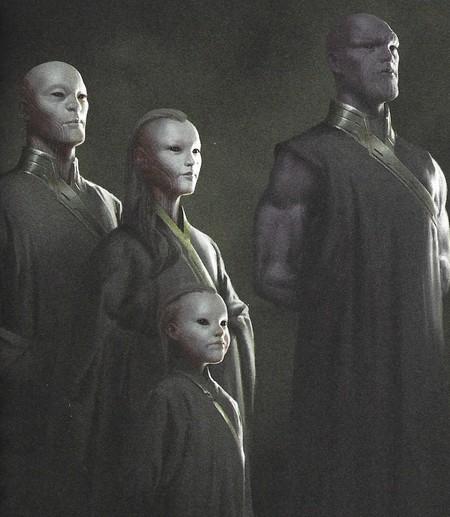 Arte Conceptual Oficial Marvel Thanos Adulto