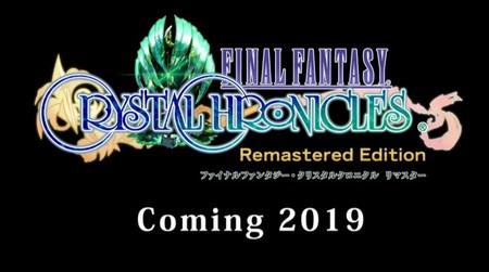 Final Fantasy Crystal Chronicles dejará de ser exclusivo de GameCube. Saldrá en PS4 y Nintendo Switch en 2019 [TGS 2018]