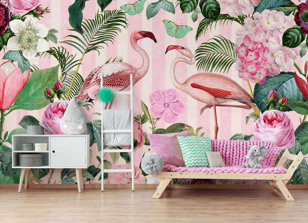 Los queremos: Estos papeles pintados tropicales creados por Andrea Haase nos han robado el corazón