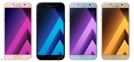 Nuevas imágenes del Samsung Galaxy A5 2017 apuntan a una ligera renovación del diseño