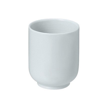 Taza blanca de Muji