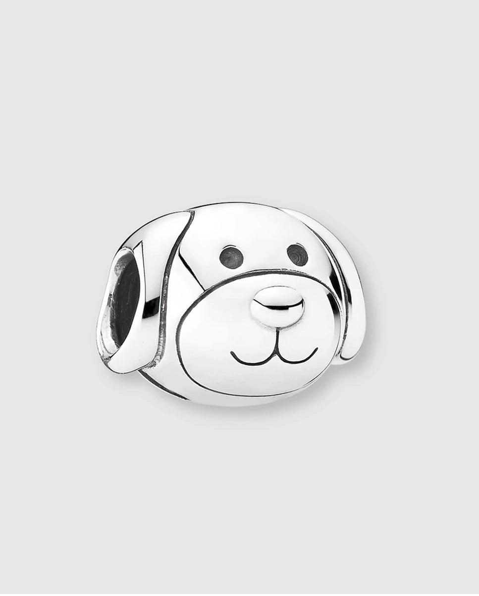Charm con diseño de perro de plata de ley de Pandora