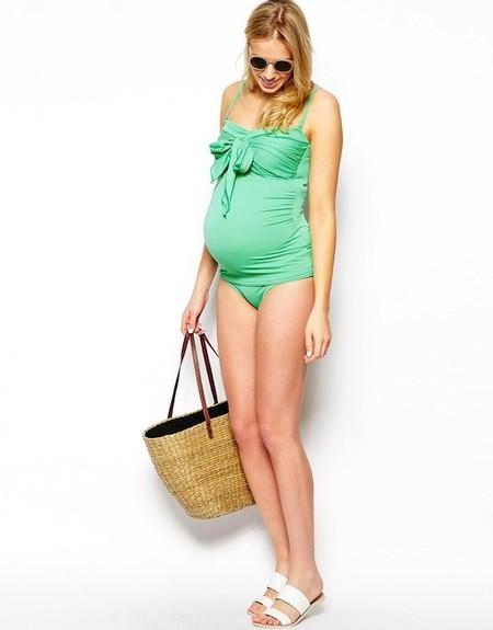 Moda embarazadas verano 2014: tankinis la mar de monos