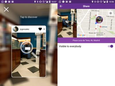 WallaMe, una red social para ocultar imágenes en los muros de las ciudades
