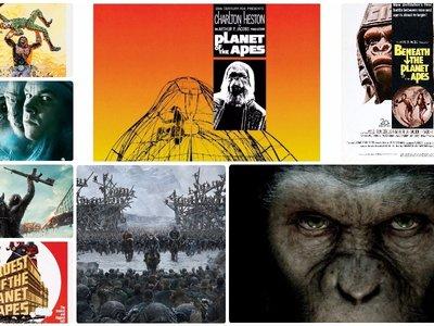 Del origen a la conquista: cinco décadas de grandes aventuras en el planeta de los simios