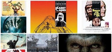 Del origen a la conquista: cinco décadas de aventuras en el planeta de los simios