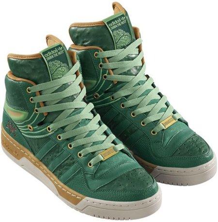Nuevas zapatillas de Adidas inspiradas en Jabba The Hutt
