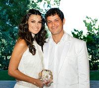 Pero qué monos Alejandro Sanz y Raquel Perera el día de su boda