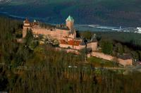 El Castillo Haut-Koenigsbourg de Alsacia