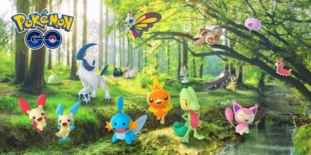 Pokemon Go Tercera Generacion