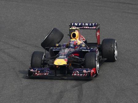 El equipo Red Bull multado por la liberación insegura de Mark Webber