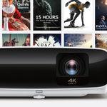 BenQ pone a la venta el TK810, un proyector 4K con plataforma smart TV y streaming desde terminales móviles