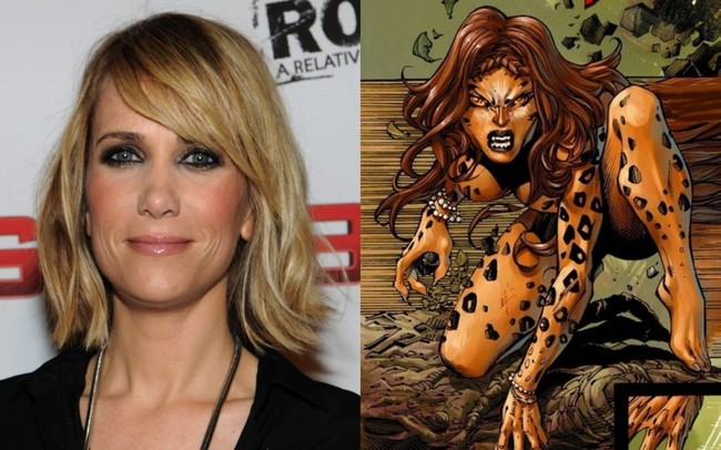Kristen Wiig will be Cheetah