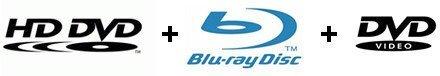Warner patenta los discos híbridos HD DVD, Blu Ray y DVD