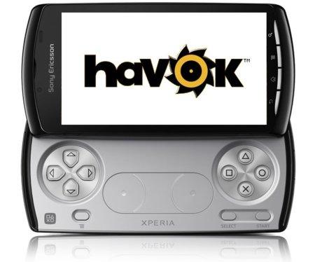 Havok llevará sus herramientas a Android y Sony Ericsson Xperia Play