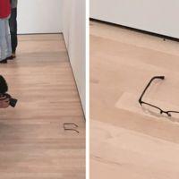 ¿Y si las gafas en el suelo hubiesen sido Arte, qué?