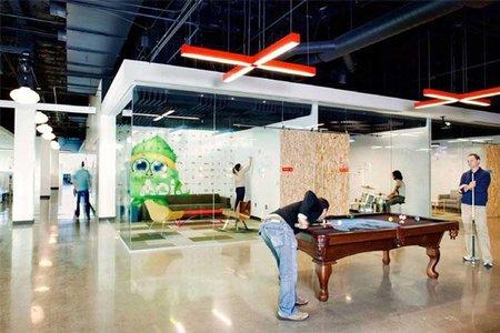 Espacios para trabajar: las nuevas oficinas de AOL