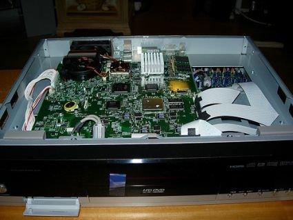 Toshiba HD-A1 HD DVD por dentro