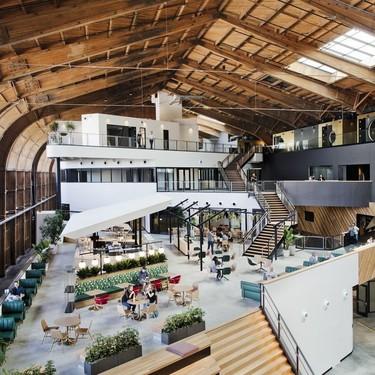 Las nuevas oficinas de Google en California se sitúan en un hangar completamente restaurado
