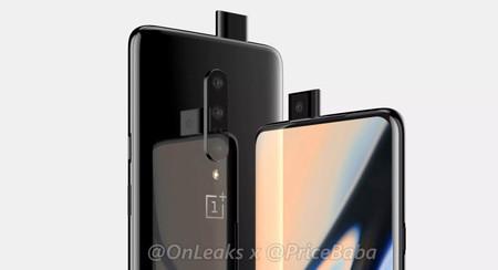 OnePlus 7: este sería su aspecto, cámara retráctil incluida, según OnLeaks