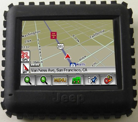 [CES2008] Jeep GPS RT 300, todoterreno