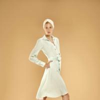 vestido de topos Dolores Promesas Resort Primavera-Verano 2014