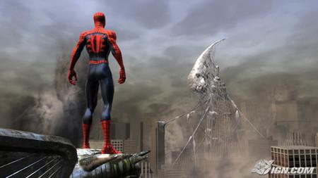 Vídeo in-game de 'Spider-Man: Web of Shadows'. La cosa promete
