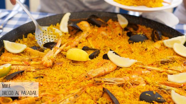Restaurante el velero - paella marisco