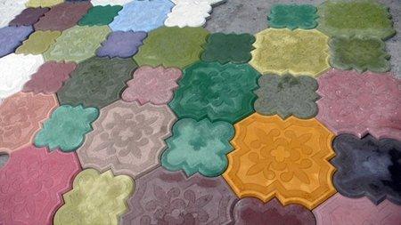 Hormigón decorativo para suelos