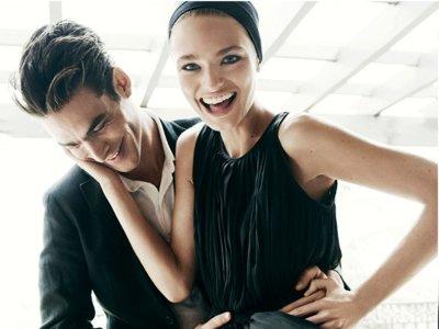 El catálogo Massimo Dutti primavera-verano 2016 une a unos románticos Anna Mila Guyenz y Jon Kortajarena