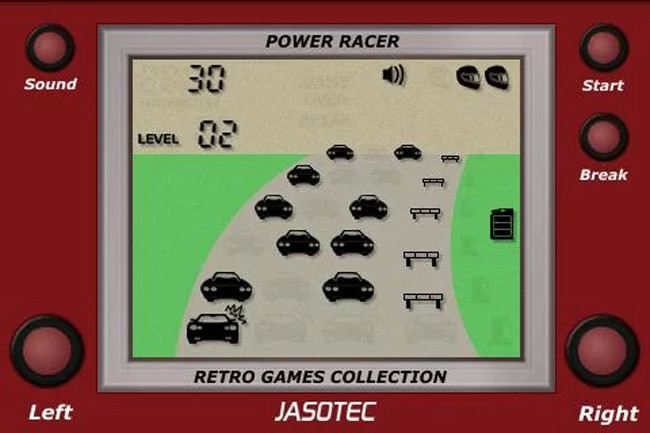 LCD Power Racer