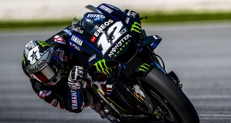 Maverick Vinales Test Sepang Day 2