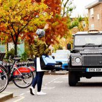 El Land Rover Defender se convierte en taxi en Londres