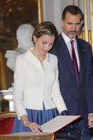 ¿Buscas ya recogido para las fiestas de Navidad? Inspírate en el de la Reina Letizia
