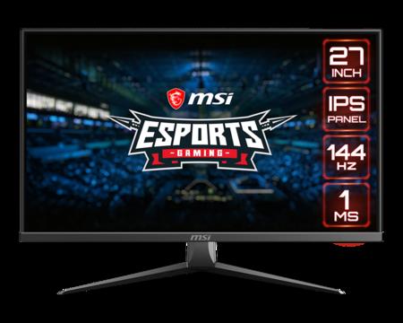 MSI amplía su catálogo de monitores gaming con el Optix MAG273, un modelo de 27 pulgadas Full HD con HDR