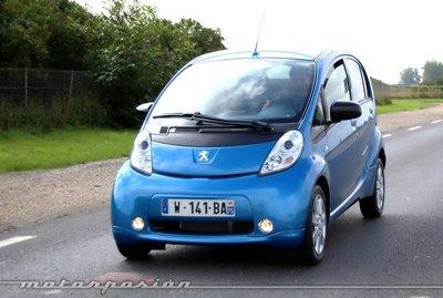 Peugeot i0n, presentación y prueba en Francia (parte 1)