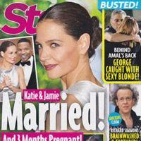 Katie Holmes y Jamie Foxx... ¿casados?