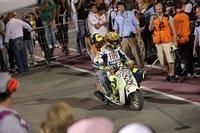 Y para empezar en Qatar... ¡cuatro noches de motos!