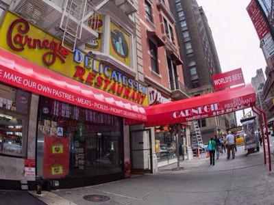 Carnegie Deli, uno de los restaurantes más típicos de Nueva York, cerrará a final de año