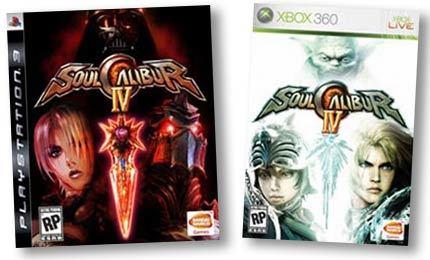 Las carátulas de 'Soul Calibur IV'