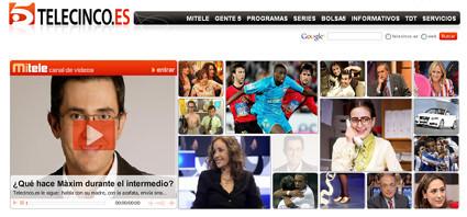 Telecinco estrena web