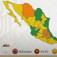 Siete estados pasan a verde en el semáforo de COVID en México, Chihuahua e Hidalgo regresan a naranja