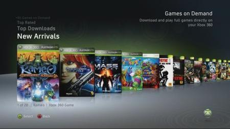 Desvelado el precio de los juegos bajo demanda de Xbox 360