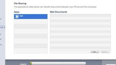 El iPhone OS 4.0 podría permitir compartir archivos entre el iPhone y el Mac vía iTunes