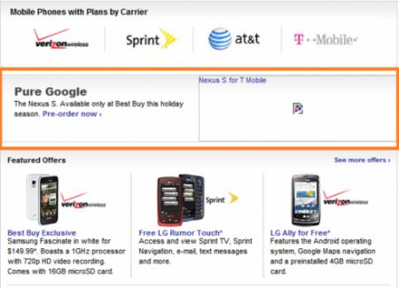 Nexus S aparece como posible nombre del teléfono de Samsung y Google
